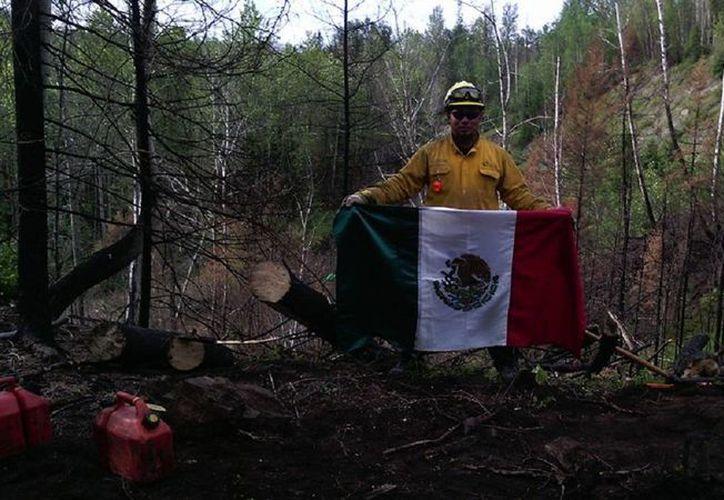 Para los bomberos de Q. Roo representó un gran reto. (Edgardo Rodríguez/SIPSE)