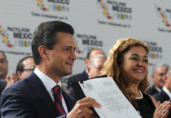 Confían en que los objetivos de la reforma, promulgada hoy por el Presidente, no se distorsionen. (presidencia.gob.mx)