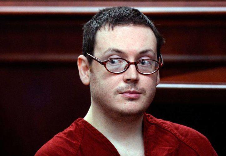 James Holmes, autor de una matanza en un cine de Colorado, fue agredido por otro recluso en la cárcel estatal. La imagen es de hace unos meses, durante la sentencia por el multihomicido de 2012. (AP)