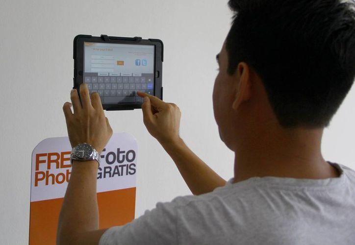 "Los kioscos contarán con tabletas para ""sacarse"" fotografías. (Gonzalo Zapata/SIPSE)"