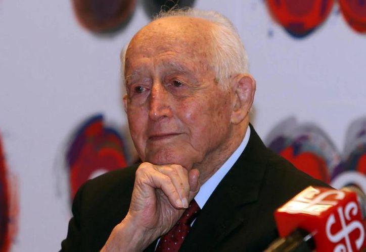 El Partido Acción Nacional programó para este 24 de mayo un homenaje a Luis H. Álvarez, fallecido este miércoles. (Notimex)