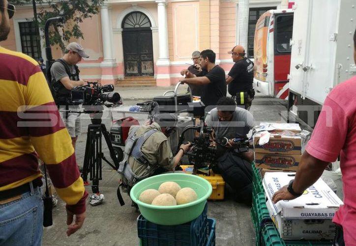 El filme trata de la vida cotidiana en Yucatán, de la seguridad de acudir al mercado. (SIPSE)