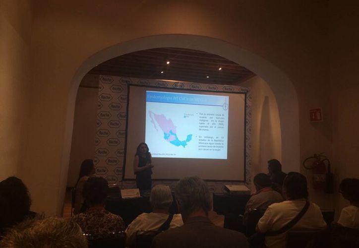 Laboratorios Roché presentó los avances médicos el pasado fin de semana. (Miguel Ángel Ortiz/SIPSE)
