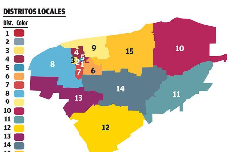 Yucatán celebrará en julio históricas elecciones concurrentes con un renovado mapa electoral. (Milenio Novedades)