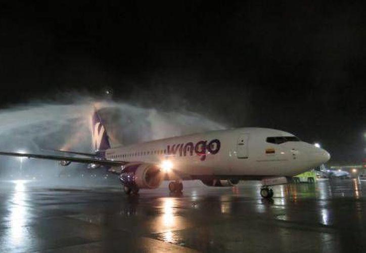 En los primeros vuelos que realizó la aerolínea Wingo trasladó a 'influencers' a Cancún. (elcomercio.com)