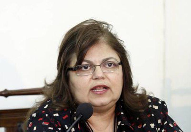 María Elena Achach Asaf. (Christian Ayala/SIPSE)