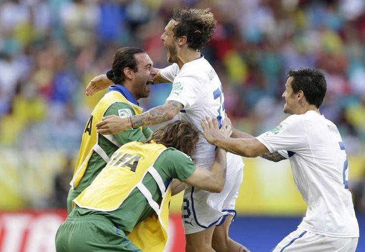 Italia se ubica en el tercer escaño de la Copa Confederaciones 2013. (Agencias)