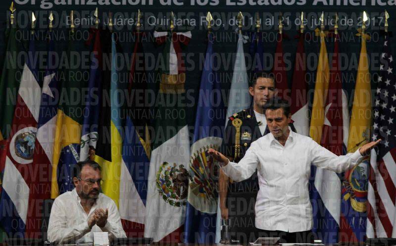 OEA observará comicios presidenciales del 2018 en México