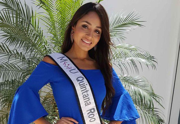Eyra Leines dijo que el certamen de belleza fue una gran experiencia. (Jocelyn Díaz/SIPSE)