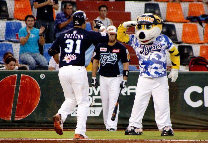 Los Tigres de Quintana Roo tienen marca ganadora fuera de casa de 15-10. (Archivo/SIPSE)