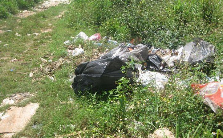 Vecinos se han encargado de limpiar y quemar las zonas donde hay este tipo de basureros, pero de la noche a la mañana vuelven a estar igual.