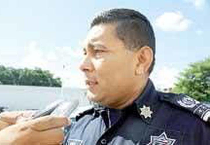 El director de Seguridad Pública, Rodolfo del Ángel Campos, dijo que pone en manos de la Procuraduría General de Justicia del Estado las investigaciones correspondientes. (Redacción/SIPSE)