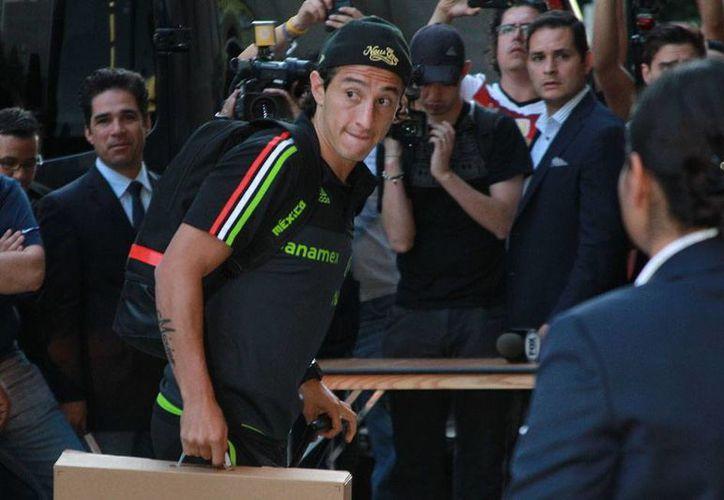 Andrés Guardado, mediocampista del PSV Eindhoven y de la Selección Mexicana, está en la lista de los jugadores que pueden obtener el Balón de Oro. (Archivo/NTX)