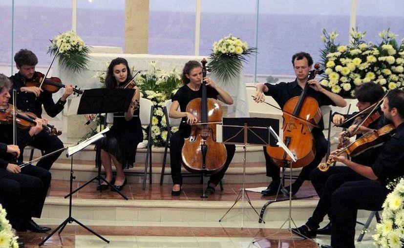 Ensemble Valsassina ofrecerá una segunda presentación, la noche de este miércoles en la explanada municipal. (Redacción/SIPSE)