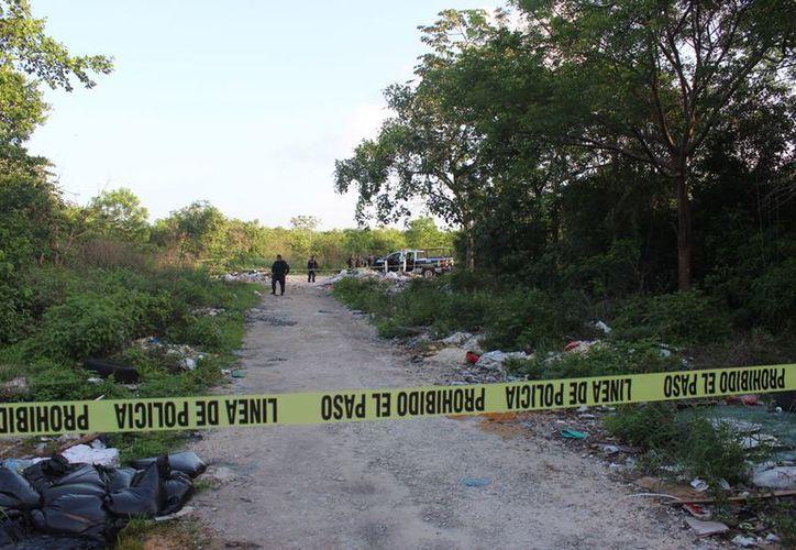 Cuerpos con heridas de bala y maniatados, han sido abandonados con frecuencia en el Arco Norte. (Redacción/SIPSE)