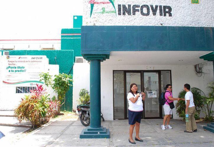 Los morosos representan 16.7% de la totalidad de deudores que tiene el Infovir. (Tomás Álvarez/SIPSE)
