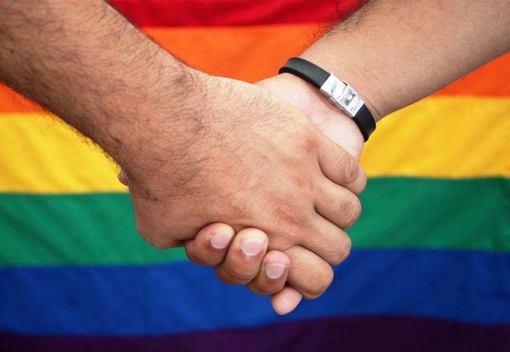 La comunidad gay en Playa del Carmen festeja la determinación de la Suprema Corte de Justicia de la Nación. (Daniel Pacheco/SIPSE)