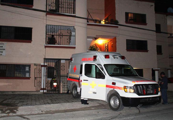 Gabriel Mendicuti Loría fue trasladado a este edificio la noche del miércoles pasado. (Octavio Martínez/SIPSE)