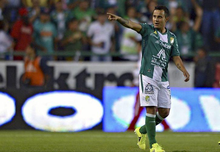 Luis Montes, Chapo, es uno de los jugadores de León que enfrentará a Cruz Azul en uno de los cuarto partidos de liguilla de la Copa MX, que inicia este martes. (diariodemexico.com.mx)