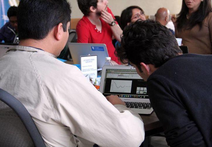 Muchos jóvenes yucatecos han encontrado en los proyectos independiente la mejor forma de laborar. (Milenio Novedades)