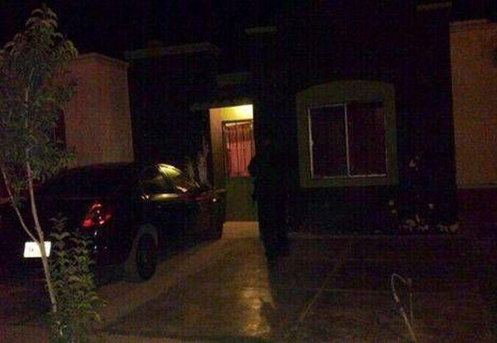 Este es el predio donde fue hallado el cadáver del jefe policiaco. Se desconoce si esta era su casa. (Milenio)