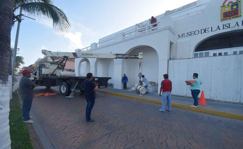 Anuncian que el próximo mes abrirá sus puertas el museo. (Gustavo Villegas/SIPSE)