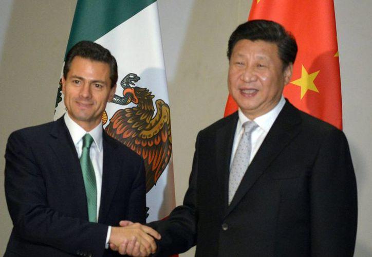 Enrique Peña Nieto y Xi Jinping destacaron la labor que lleva a cabo el G20 como establizador y promotor de la estabilidad y crecimiento económico de sus habitantes. (Notimex)