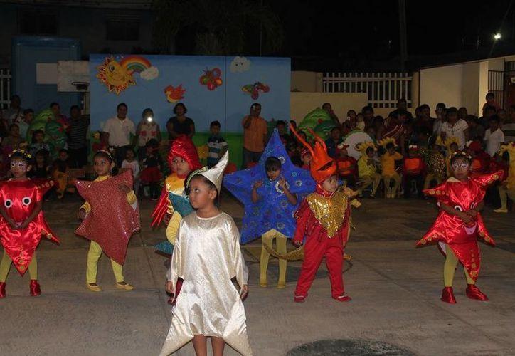 Implementaron actividades en instalaciones del plantel educativo. (Raúl Balam/SIPSE)