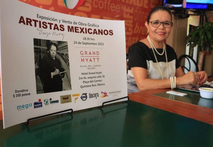 Cinco obras de Diego Rivera serán exhibidas  y ofrecidas en venta en la Riviera Maya. (Adrián Barreto/SIPSE)