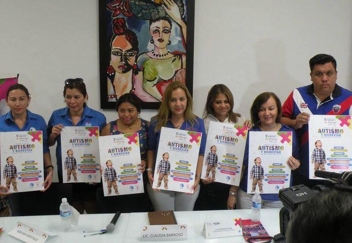 El evento internacional del autismo es organizado por las asociaciones Centro Cotii y la Fundación Mondo. (Milenio Novedades)