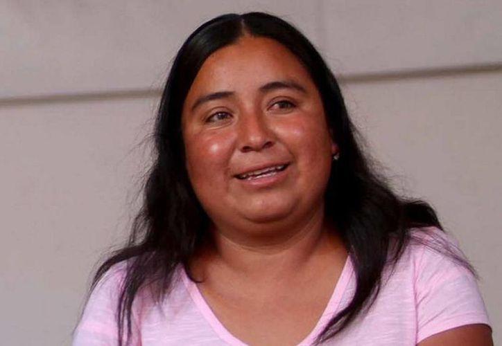 Teresa González fue acusada de secuestrar a federales; la Suprema Corte la absolvió en 2010. (Notimex)