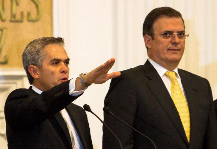 Miguel Ángel Mancera sustituirá en el cargo a Marcelo Ebrard. (Notimex)