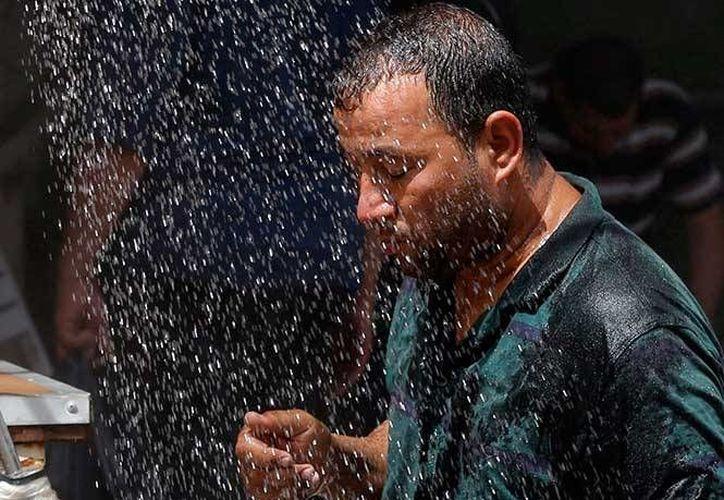 El jefe de meteorología del gobierno Hassan Abdul-Karim dijo que estos niveles superan el promedio para esta época del año. (Excélsior)