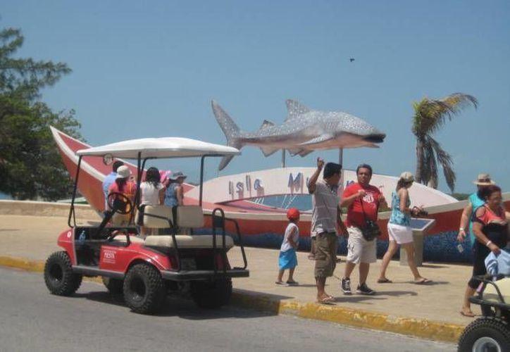 En este año Isla Mujeres espera sumar un millón 800 mil turistas. (Redacción/SIPSE)
