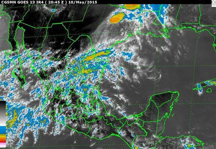 Se pronostican vientos fuertes de 30 a 45 km/h y rachas mayores en Baja California, Sonora y Chihuahua. (smn.cna.gob.mx)