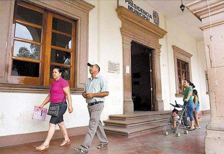El ayuntamiento estuvo tomado desde diciembre pasado por un grupo de civiles. (Jesús Quintanar/Milenio)