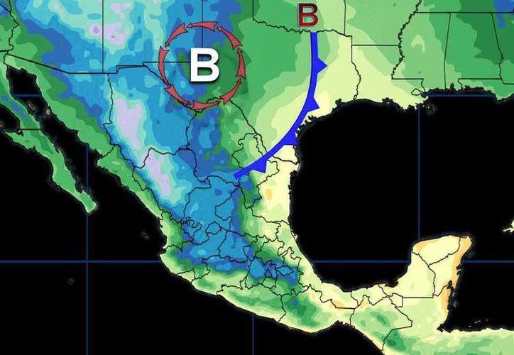Los vientos en Cancún oscilarán en los 32 grados centígrados. (Conagua)