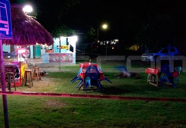 Los hechos ocurrieron a 23 kilómetros de Chetumal en una taquería. (Redacción/SIPSE)