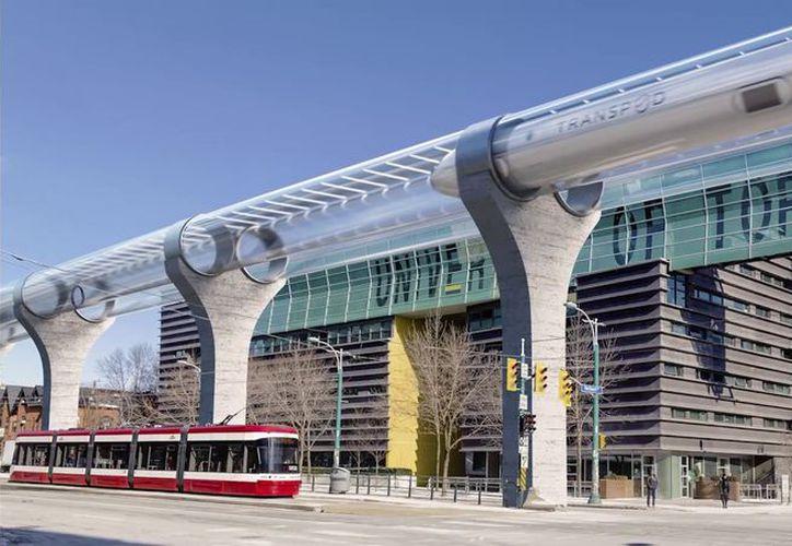 La compañía Transpod es la más reciente en sumarse a la competencia para construir un sistema de transporte de alta velocidad. (Foto: Hyperloop)