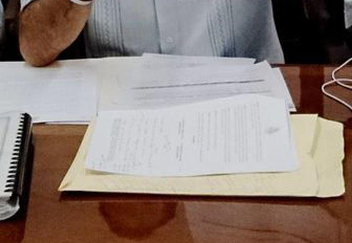 Según el regidor Enrique Alfaro, el Ayuntamiento usó una parte del préstamo de 150 mdp para comprar computadoras y una zanjadora. (Cortesía)