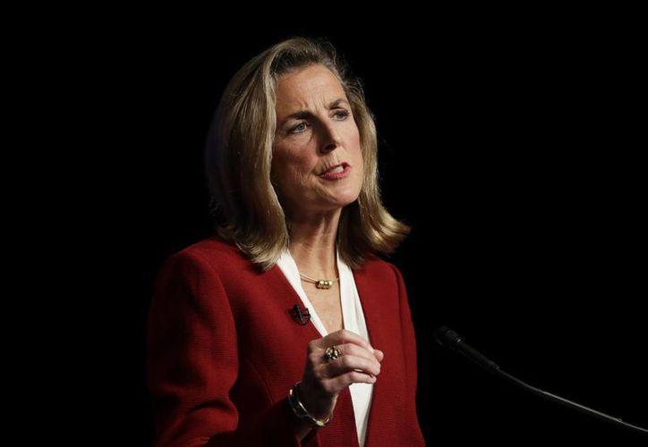 Katie McGinty sería la primera senadora de Estaos Unidos por Pennsylvania. (AP)