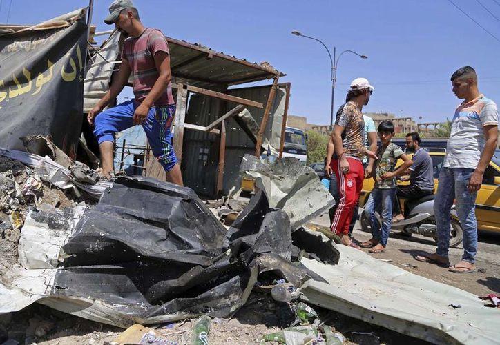 El Estado Islámico creó un nuevo tipo de bomba, que  usó en el ataque más mortífero de su historia, en Bagdad, Iraq. (AP/archivo)