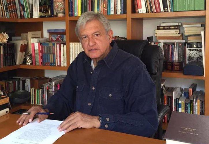 Andrés Manuel López Obrador reiteró que su partido es el único que propone una transformación para México. (facebook.com/lopezobrador.org.mx)