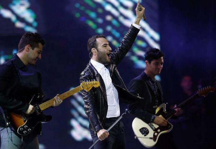 Reik estrenó en Latinoamérica y Estados Unidos 'Voy a olvidarte', su nuevo sencillo. (EFE)
