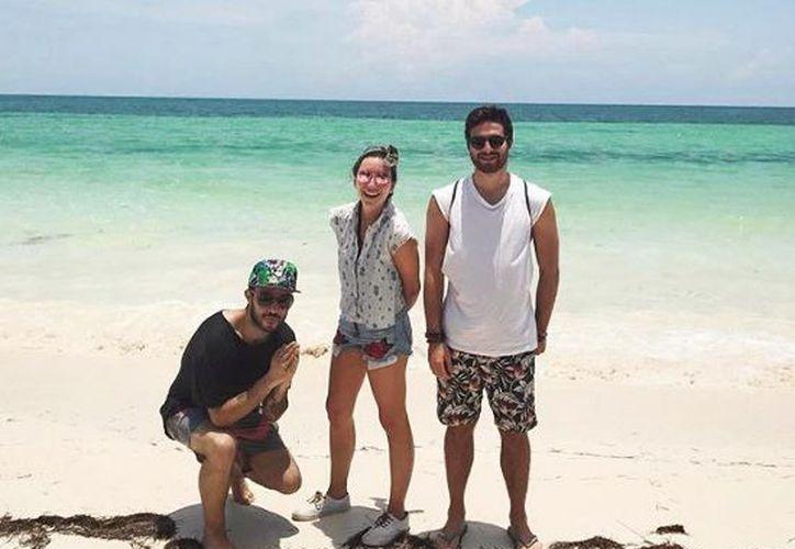 Famosos se suman para el cuidado de playas en Quintana Roo. (Instagram)