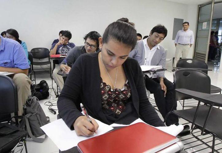 La Universidad tiene una matrícula de 728 alumnos y espera el ingreso de 510 estudiantes el próximo ciclo escolar. (Redacción/SIPSE)