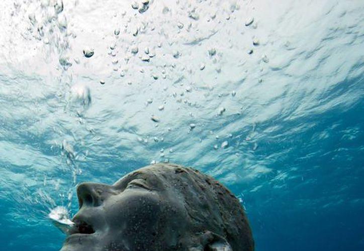 El Musa recibe alrededor de 80 mil visitantes al año y cuenta con 500 esculturas del artista inglés Jayson deCaires Taylor. (Redacción/SIPSE)