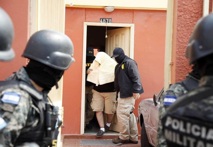 El Ministerio Público hondureño informó el arresto de cuatro hombres en conexión con el asesinato de Berta Cáceres, ocurrido en marzo pasado. (AP)