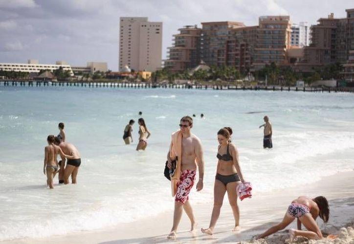 El turismo brasileño y de América Latina en Quintana Roo registró en 2012 un crecimiento del 42%. (Foto de Contexto/SIPSE)