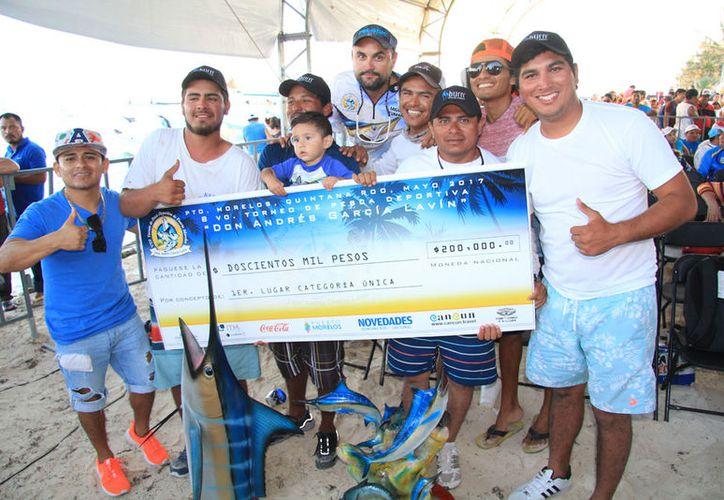 """Mía Fernanda"""" de Isla Mujeres fue el máximo ganador en el torneo del año pasado. (Raúl Caballero/SIPSE)"""